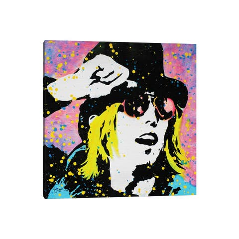"""iCanvas """"Tom Petty"""" by MR BABES Canvas Print"""