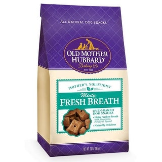 Old Mother Hubbard Minty Fresh Dog Biscuit Treats 20oz