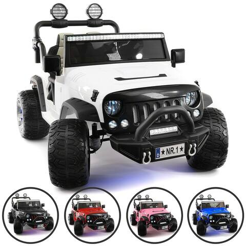 Trail Explorer 12V Kids Ride-On Car Truck with R/C Parental Remote