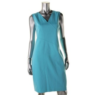 T Tahari Womens Casual Dress Sleeveless Knee-Length