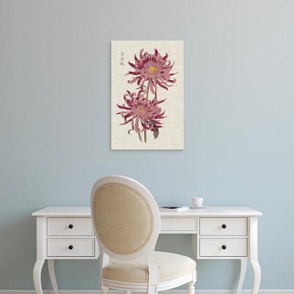 Easy Art Prints Vision Studio's 'Vibrant Mums II' Premium Canvas Art