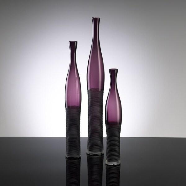 """Cyan Design 00881 23.5"""" Large Amethyst Bottle Vase"""