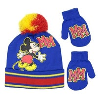 ceaae569ec2f8e Shop Disney Infant / Toddler's Mickey Mouse Hat and Mitten Winter ...