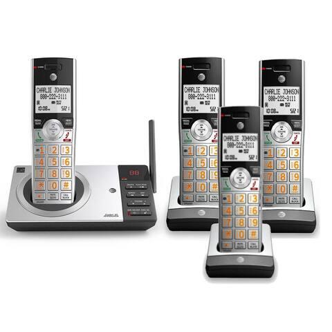AT&T CL82207 + (2) CL80107 DECT 6.0 Digital Technology 3 Handset Phone System
