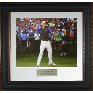 Rory McIlroy unsigned 2014 PGA 16x20 Photo Leather Framed @ Valhalla