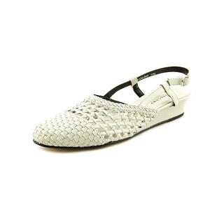 Mark Lemp By Walking Cradles Jessy Women Open Toe Leather Wedge Heel