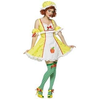 Apple Dumpling Womens Strawberry Shortcake Costume - standard - one size