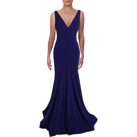 Jovani Juniors Sleeveless Mermaid Evening Dress