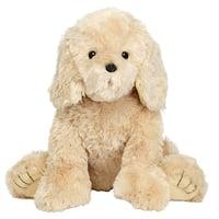 JOON Buddy Super Plush Stuffed Dog, Golden Cream, 15 Inches - golden cream