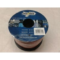 Clear Speaker Wire 16 Gauge 50 Feet