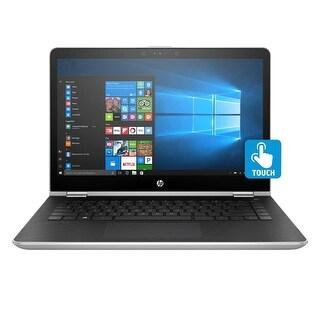 "Refurbished - HP Pavilion 14-BA001LA 14.5"" Touch Laptop Intel i3-7100U 2.4GHz 4GB 500GB W10"