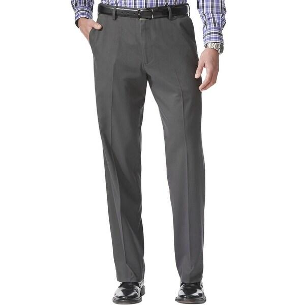Dockers Men's Comfort Relaxed Fit Khaki Stretch Pants, Steelhead, 34x32. Opens flyout.