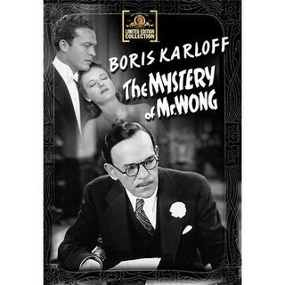 The Mystery Of Mr. Wong DVD Movie 1939