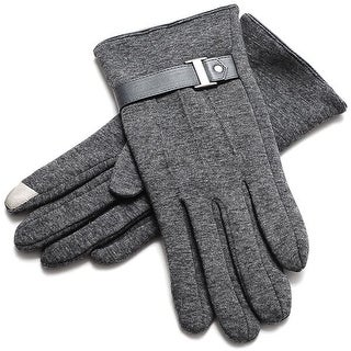 Mad Style Exec Texting Gloves - Grey