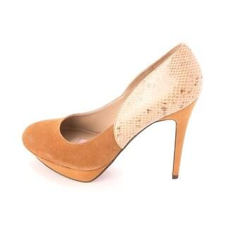 Paris Hilton Womens Jasmin Suede Closed Toe Classic Pump