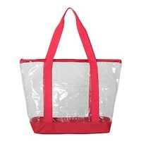 e0f21c8e443 Shop Liberty Bags Clear Boat Tote - Royal - One Size - Free Shipping ...
