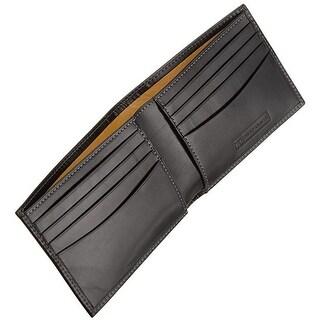Trafalgar Mens Cortina Slimfold Wallet Black One Size