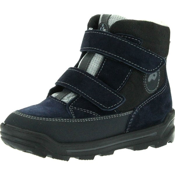 Ricosta Boys Franz Waterproof All Weather Boots - Navy - 21 m eu / 5-5.5 m us toddler