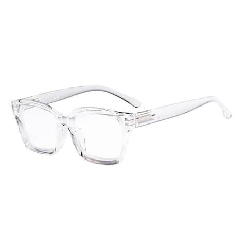 Eyekepper Ladies Reading Glasses - Oversized Square Design for Women