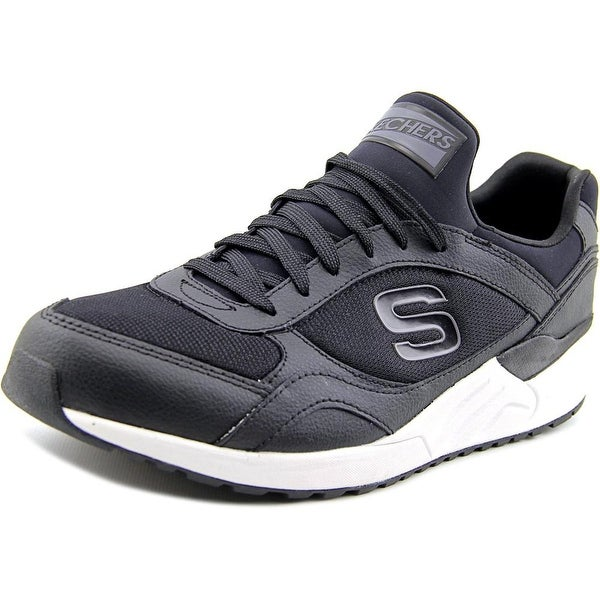 Skechers OG 95 Morrowson Men Round Toe Synthetic Black Sneakers