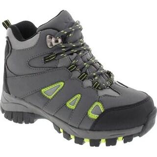 Deer Stags Boys' Drew Hiking Boot Grey