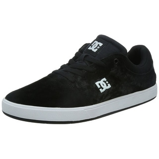 DC Men's Crisis Skate Shoe - Black/White