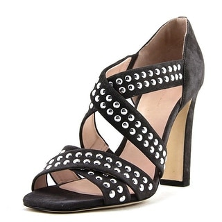 Christopher Kane Dots   Open Toe Suede  Sandals