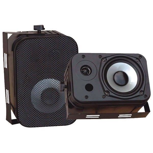 "PYLE PRO PDWR40B 5.25"" Indoor/Outdoor Waterproof Speakers (Black)"