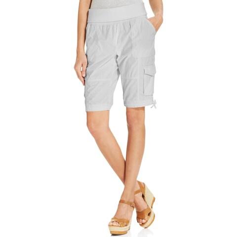 Calvin Klein Performance Womens Cargo Shorts Quick Dry Drawstring