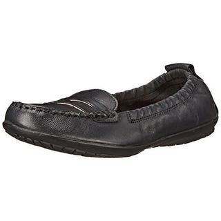Hush Puppies Womens Katherine Ceil Leather Penny Loafers - 7 narrow (aa,n)