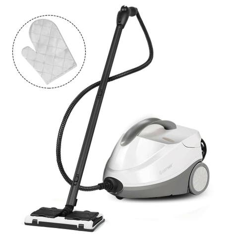 Costway Heavy Duty Steam Cleaner Mop Multi-Purpose Steam Clean 4.5 Bar - Modern & Contemporary