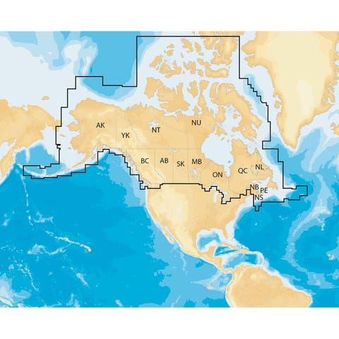 Navionics nav plus canada msd regional lakes and coastal