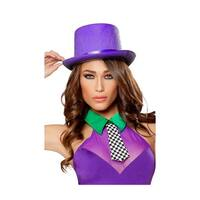 Purple Top Hat, Purple Hat - One Size Fits most