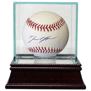 David Price signed Rawlings Official Major League Baseball w/ Glass Case (Red Sox)
