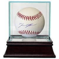 David Price signed Rawlings Official Major League Baseball w Glass Case Red Sox