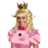 Princess Peach Crown Adult Costume Accessory