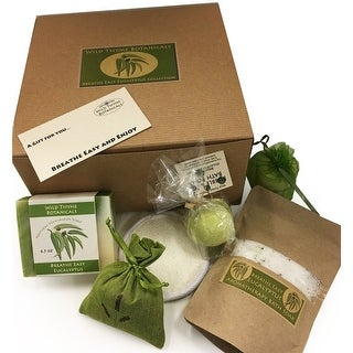 Link to Handmade Breathe Easy Eucalyptus Spa Collection Gift Box Similar Items in Baby Gift Baskets