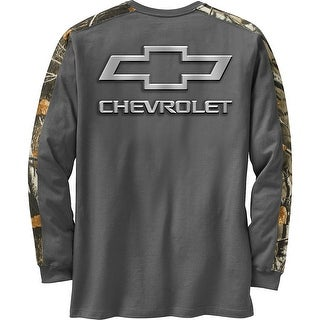 Legendary Whitetails Men's Chevy Cross Country Camo Long Sleeve T-Shirt