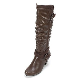 Rialto 'CRYSTAL' Women's Boot, Brown, Size 5.5
