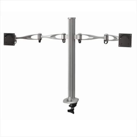 Cotytech DM-21A2-C Dual Monitor Desktop Mount Dual Swing Arm