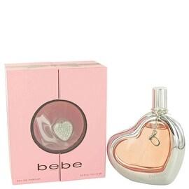 Eau De Parfum Spray 3.4 oz Bebe by Bebe - Women