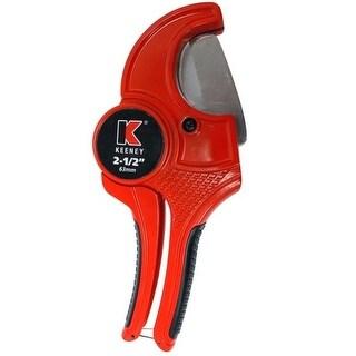 """Keeney K840-102 Pipe Cutter, 2-1/2"""", PVC"""