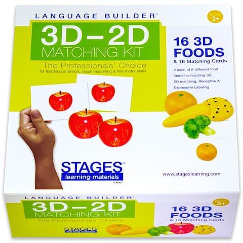 Lang Build 3Dû2D Matching Kit Foods
