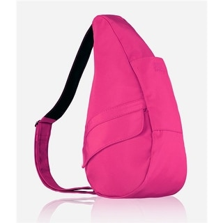 AmeriBag Small Microfiber Healthy Back Bag - Hot Pink Small Microfiber Healthy Back Bag