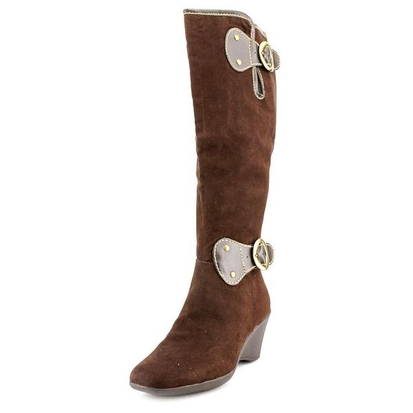 Aerosoles Wonderling Round Toe Synthetic Knee High Boot