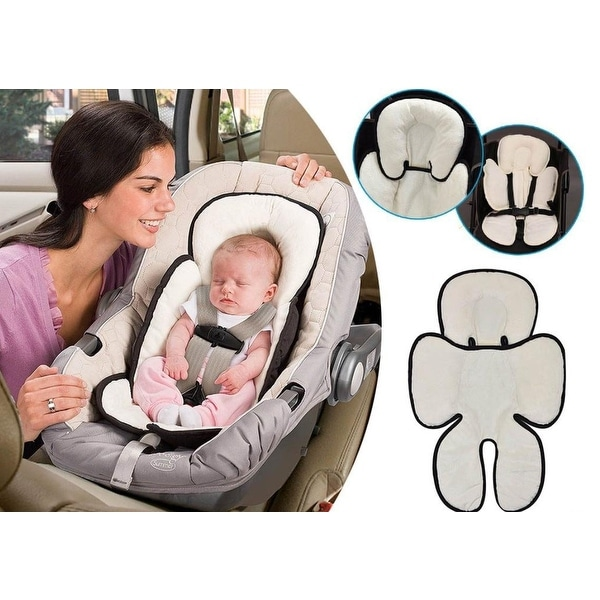 US Baby Newborn Car Seat Stroller Cushion Pad Liner Head Body Support Pillow Mat