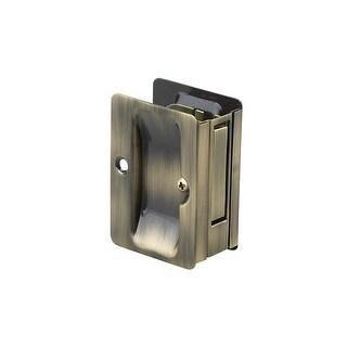 Richelieu 1700-PSBC 3-1/4 Inch x 2-1/4 Inch Flush Rectangular Passage Pocket Doo