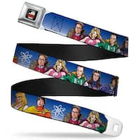 The Big Bang Theory Full Color Black White Red The Big Bang Theory Seatbelt Belt