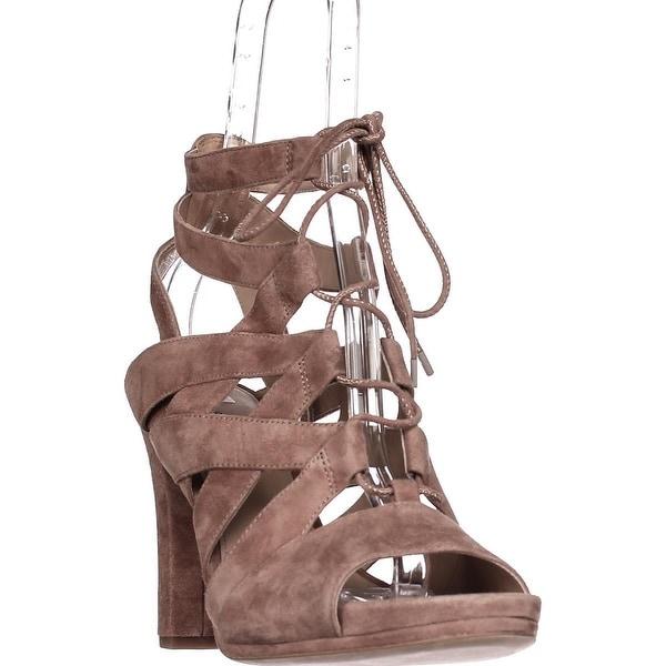 Via Spiga Collette Strappy Lace Up Sandals, Desert - 9 us / 39 eu