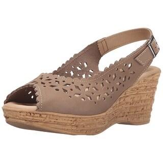 Spring Step Womens Chaya Peep Toe Casual Platform Sandals - 9